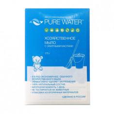 Мико Хозяйственное мыло Pure Water с эфирными маслами 175 г МиКо