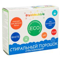 Freshbubble Порошок для стирки белья Отбеливающий 1000 мл