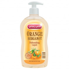 Unicum Средство для мытья посуды Апельсин-Бергамот 550мл