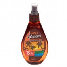 Флоресан Пальмовый рай масло для быстрого загара Гавайское SPF15 160мл Floresan