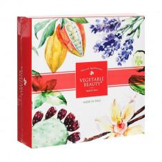 Vegetable Beauty подарочный набор натурального мыла №1 Опунция Ваниль Лаванда Огурец