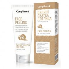 Compliment Пилинг-скатка для лица с муцином улитки 80мл
