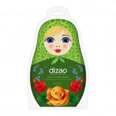 Dizao Пузырьковая очищающая маска для лица Роза и коллаген N1