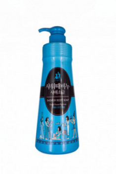 Гель для душа Mukunghwa SHOWER BODY SOAP Dead Sea Salt With Fresh Ocean Perfume 500мл
