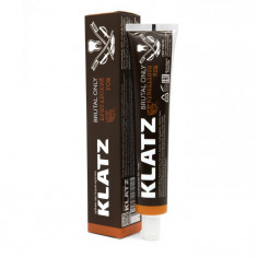 Klatz BRUTAL ONLY Зубная паста для мужчин  Бунтарский ром 75мл