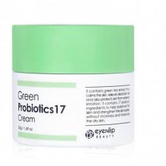 крем с пробиотиками и зеленым чаем eyenlip green probiotics 17 cream