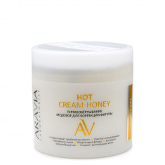 Aravia Laboratories Термообертывание медовое для коррекции фигуры Hot Cream-Honey 300мл Aravia professional