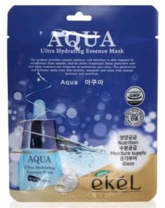 Тканевая маска для лица ультраувлажняющая EKEL Aqua Ultra Hydrating Essence Mask 25г