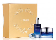THALGO Набор Интенсивная регенерирация для лица (крем 50 мл, сыворотка 30 мл) Prodige des Oceans Global Anti-Ageing Gift set