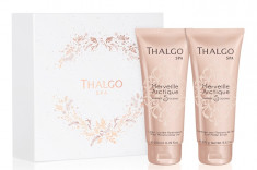 THALGO Набор Чудо Арктики для лица (гель-молочко 200 мл, скраб 270 мл) Merveille Arctique Regular Spa Gift Set