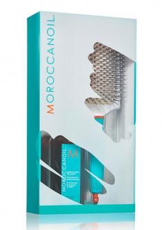 MOROCCANOIL Набор промо 2020 (восстанавливающее средство для всех типов волос 100 мл, щётка для волос Лопатка) TREATMENT