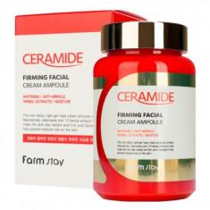 FarmStay Укрепляющий ампульный крем-гель с керамидами 250мл Farm Stay