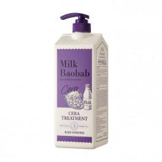 бальзам для волос с керамидами с ароматом детской присыпки milkbaobab cera treatment baby powder