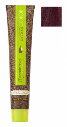 Краска для волос Macadamia Oil Cream Color 6.2 ТЕМНЫЙ РАДУЖНЫЙ БЛОНДИН 100мл