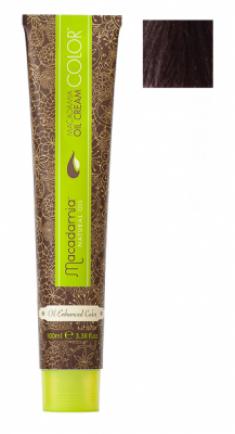 Краска для волос Macadamia Oil Cream Color 5.77 ЭКСТРА СВЕТЛЫЙ ШОКОЛАДНЫЙ КАШТАНОВЫЙ 100мл
