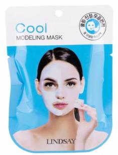 Альгинатная маска с маслом чайного дерева Lindsay Cool Modeling Mask 28г