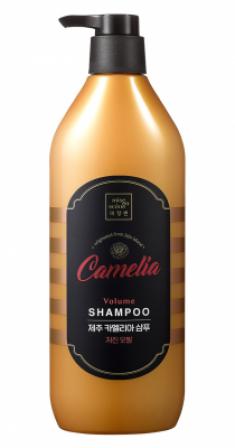 Шампунь для волос с камелией MISE EN SCENE JEJU CAMELLIA VOLUME SHAMPOO 780мл