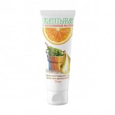 Крем-обертывание для тела при целлюлите с апельсиновым маслом Банька 75мл