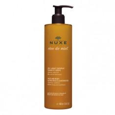 NUXE Гель ультранасыщенный очищающий для лица и тела / REVE DE MIEL 400 мл