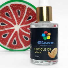Bloom, Масло для кутикулы Melon, 10 мл