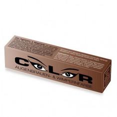 Color, Краска для бровей и ресниц, натурально-коричневая