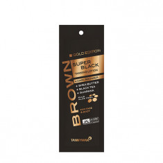 TANNYMAXX Крем-ускоритель загара с тёмными бронзаторами / BROWN Super BlackTanning Gold Edition + Dark Bronzer 15 мл
