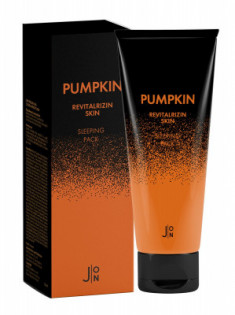 Маска для лица ТЫКВА J:ON Pumpkin Revitalizing Skin Sleeping Pack 50 мл