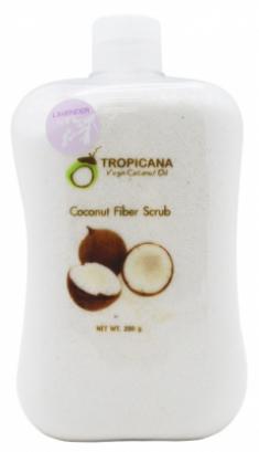 Скраб для лица и тела КОКОСОВАЯ СТРУЖКА И ЛАВАНДА TROPICANA Coconut Fiber Scrub 250г