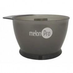 Melon Pro, Чаша для красителя, с носиком, серая, 350 мл