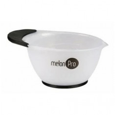 Melon Pro, Чаша для красителя, с носиком, белая, 210 мл