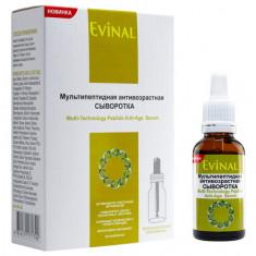 Evinal Bio, Мультипептидная сыворотка для лица, 30 мл