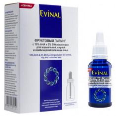 Evinal Bio, Фруктовый пилинг для лица, 30 мл