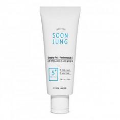 ночная маска для чувствительной кожи etude house  soon jung sleeping pack