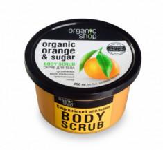 Скраб для тела Organic Shop Сицилийский апельсин 250мл