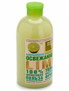 "Шампунь Organic Shop Фрукты ""Освежающий lime"" 500мл"