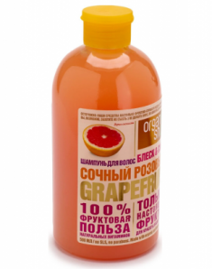 "Шампунь Organic Shop Фрукты ""Розовый грейпфрут"" 500мл"
