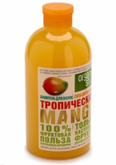 """Шампунь Organic Shop Фрукты """"Тропический манго"""" 500мл"""