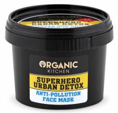 """Маска для лица Organic Kitchen """"Свежесть и детокс Superhero Urban Detox"""" 100мл"""