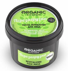 """Маска-обновление для лица Organic Kitchen """"Перезагрузка"""" 100мл"""