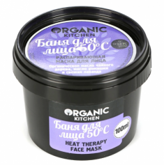 "Распаривающая маска Organic Kitchen ""Баня для лица. 50°С"" 100мл"