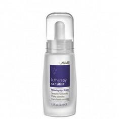 LAKME RELAXING NIGHT DROPS SENS. H&S Ночное успокаивающее средство для чувствительной кожи головы и волос 30 мл