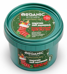 """Крем для ног согревающий Organic Kitchen """"Носочек над камином"""" 100мл"""