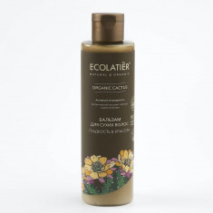 Ecolatier GREEN Бальзам для сухих волос Гладкость и Красота Кактус 250мл
