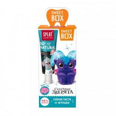 Splat Свит Бокс Зубная паста для детей 6-11лет Бабл Гам 20мл+игрушка