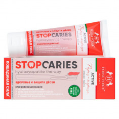 Лошадиная сила Зубная паста StopCaries Hydroxyapatite Therapy Active Перец и Корица 60мл