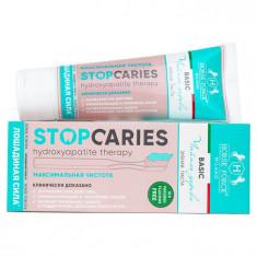 Лошадиная сила Зубная паста StopCaries Hydroxyapatite Therapy Basic Чайное дерево и гранулы 60мл