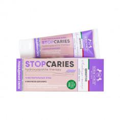 Лошадиная сила Зубная паста StopCaries Hydroxyapatite Therapy Sensitive Лаванда и Жемчуг 60мл