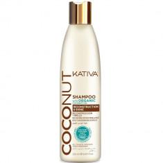 Kativa Coconut Восстанавливающий кондиционер с органическим кокосовым маслом для поврежденных волос 250мл