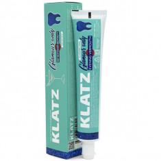 Klatz GLAMOUR ONLY Зубная паста для девушек Вечерний вермут без фтора 75мл