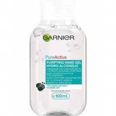 Garnier Очищающий гель-санитайзер для рук с антибактериальными свойствами 100мл